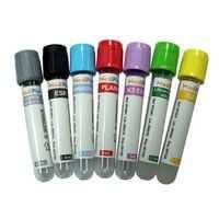 tubos de coleta de sangue a vácuo cores
