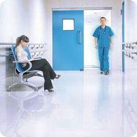 Portas automáticas de correr para hospital